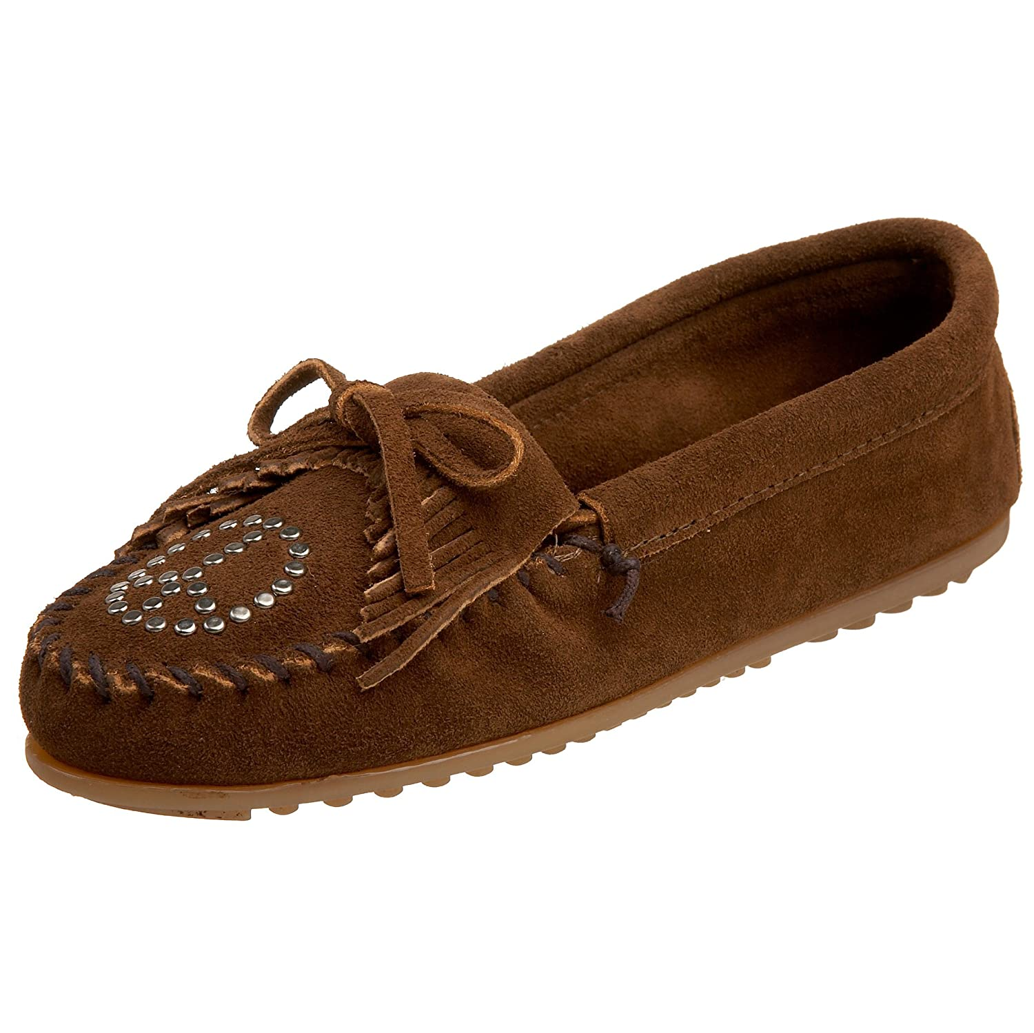 Amazon | Minnetonka Women's Kilty Peace Sign Moccasin | Loafers &  SlipOns