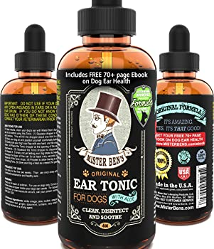 Mister Ben's Original Ear Tonic Dog Ear Cleaner