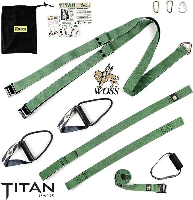 Titan WOSS por los entrenadores, sistema de suspensión fabricado en Estados Unidos