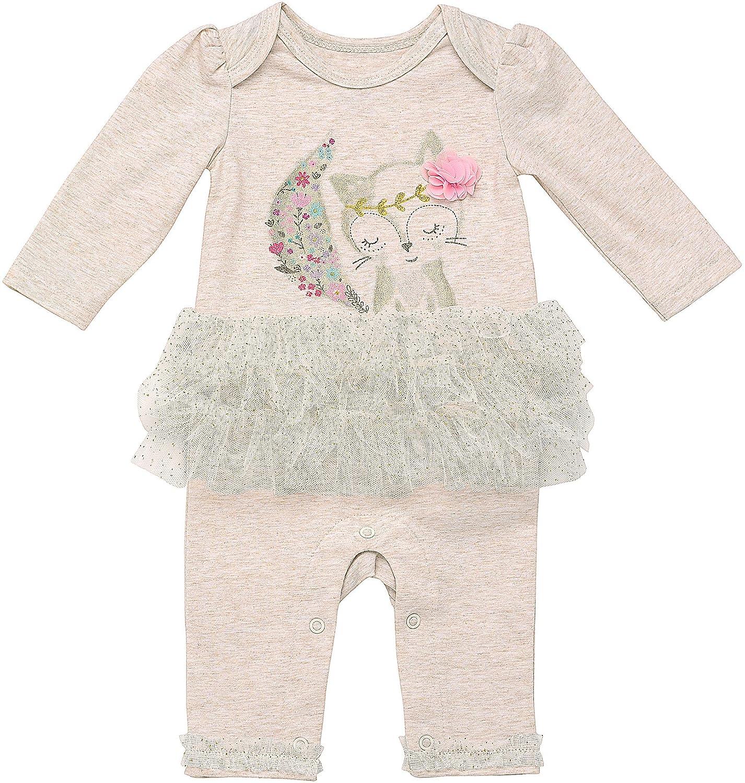 Amazon Baby Starters Baby Girls Fox Tutu Coverall Clothing