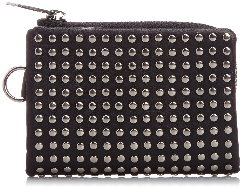 [パトリック ステファン] 財布 二つ折り財布 全面スタッズ 牛革 106AWA07 B00Q9UUAS2  シルバー