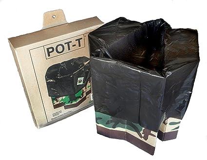 Amazon.com: POT-T - Inodoro portátil para viajes al aire ...