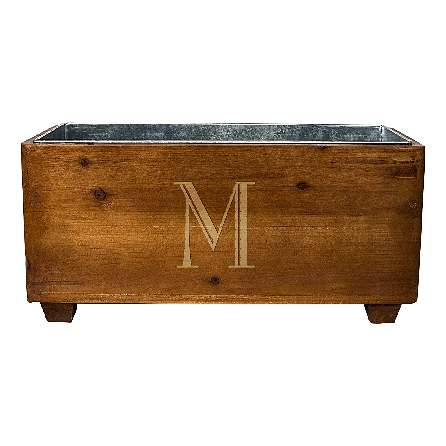 Cathy's Concepts Personalized Wooden Wine Trough, Letter A Cathy's Concepts 2294-A