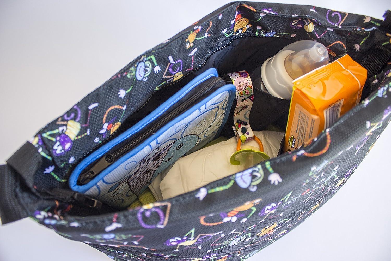 Tris /& Ton conjunto colchoneta silla paseo protector arneses Trisyton empu/ñadura funda protector manillar modelo Monitos Black
