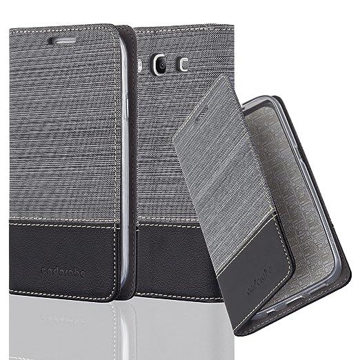 2 opinioni per Cadorabo- Custodia Book Style per Samsung Galaxy S3 Design Tessuto- Similpelle