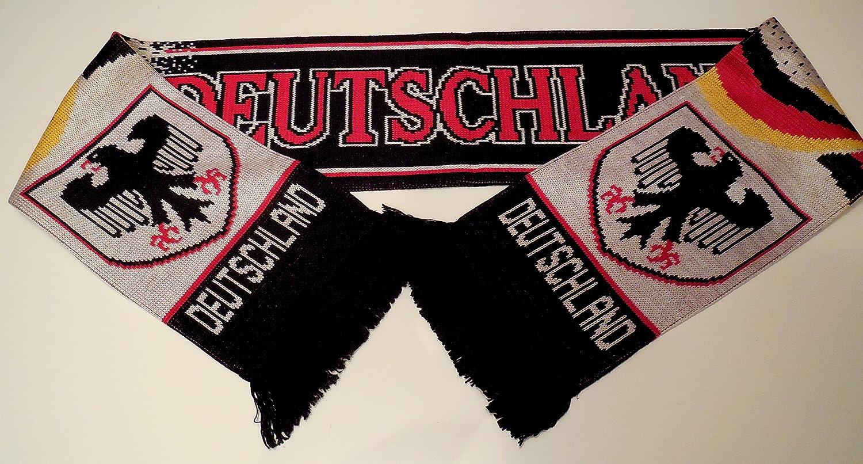 Unbekannt Deutschland Schal Fanschal Fussball Schal Balkenschal schwarz