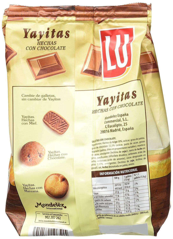 Lu - Yayitas - Galletas con chocolate - 250 g - [confezione da 7]: Amazon.es: Alimentación y bebidas