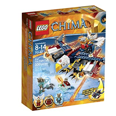 LEGO Chima 70142 Eris' Fire Eagle Flyer Building Toy: Toys & Games