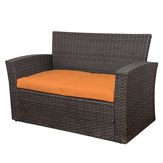 Peachy Amazon Com Westin Outdoor Delano 4 Piece Patio Conversation Pabps2019 Chair Design Images Pabps2019Com