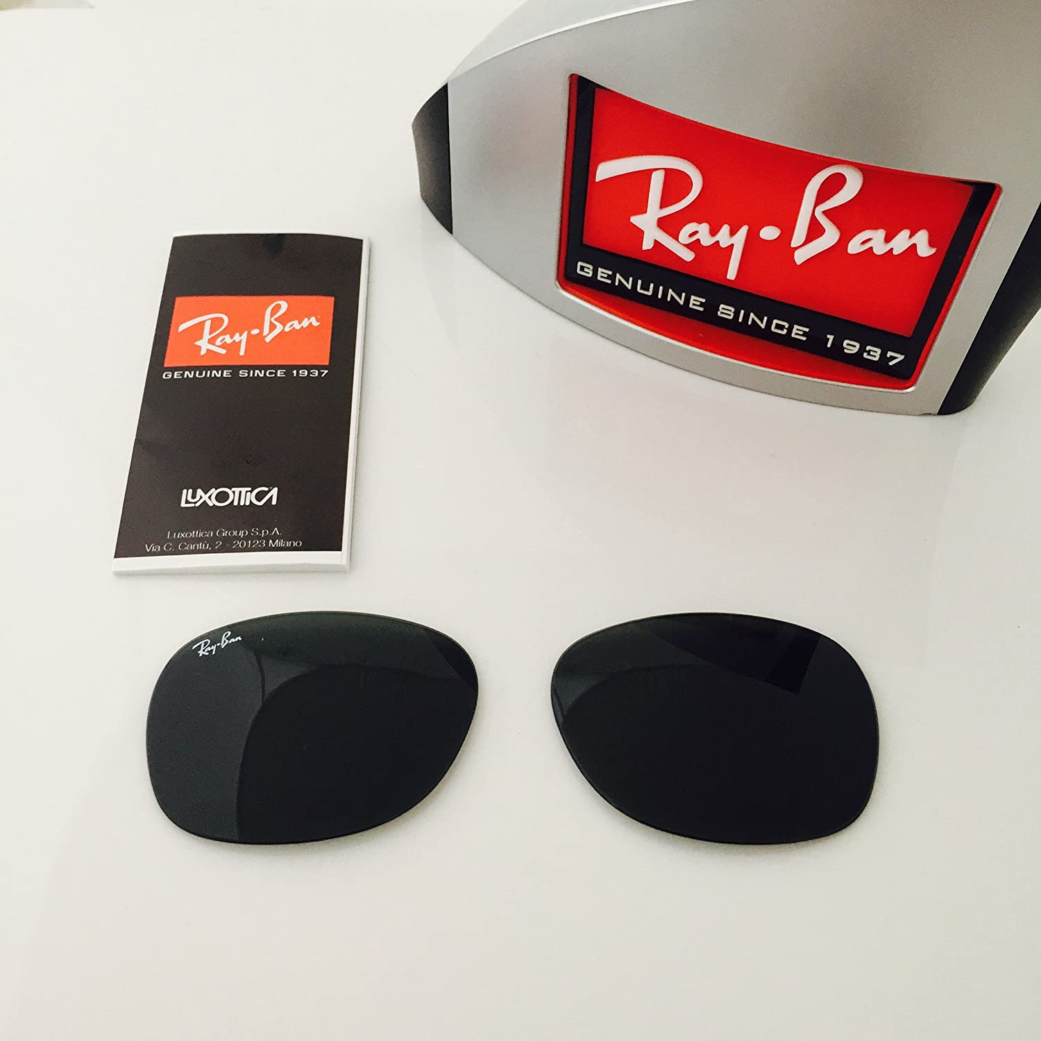 bca863dbe5f Amazon.com  Green (G15) Replacement Lenses Ray-ban Rb 2132 52mm New  Authentic + ShadesDaddy Glasses  Clothing