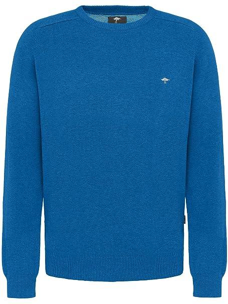 d0f60d942f5c7 Fynch Hatton - Pull - Manches Longues - Homme - Bleu - X-Large ...