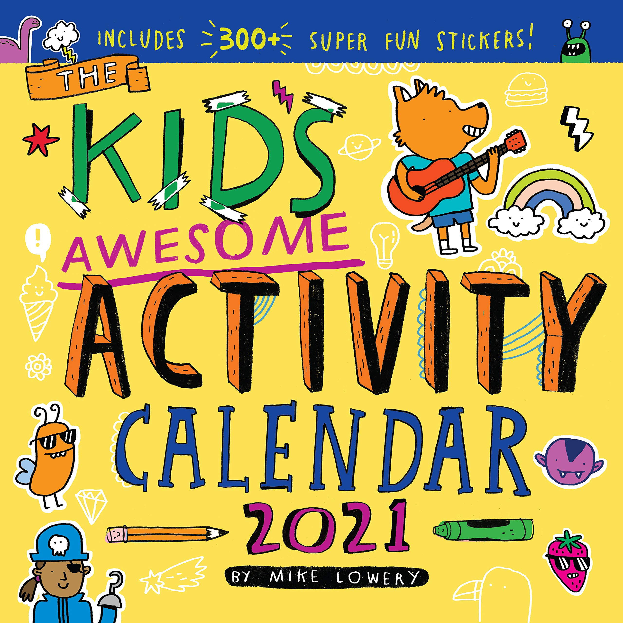 Image for Kid's Awesome Activity Wall Calendar 2021