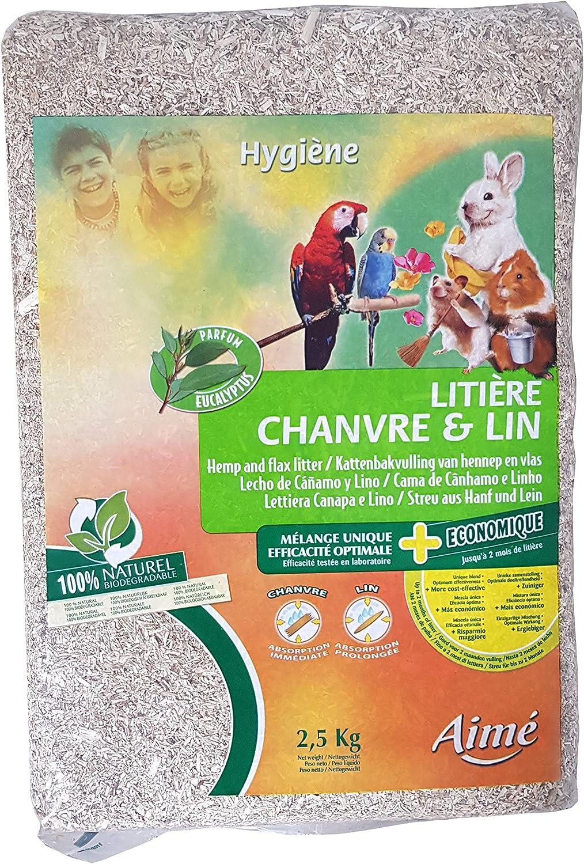 Aimé 1000061 Lecho de Cáñamo y Lino - 2500 gr