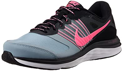 quite nice b4665 8631a Nike Womens Dual Fusion X MSL Black,Pink Power,Dove Grey,White Running
