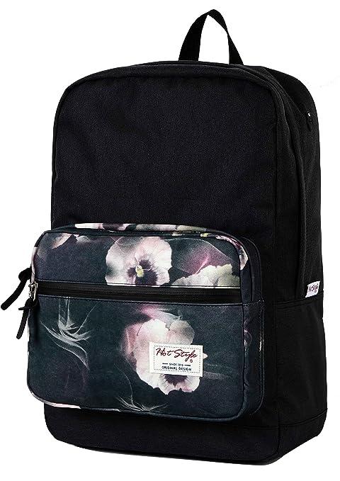 HotStyle 915s mochila colegio floral 24L - Impermeable para portatil de 15-inch
