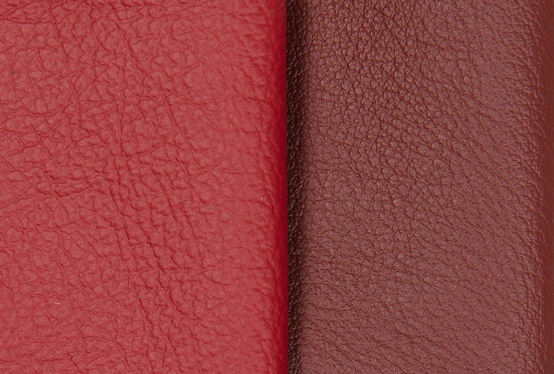 Format A0 D/écoupes de Cuir Tri/é Pi/èces de Cuir Textiles Artisanat Chutes de Cuir Usinage 0,8Kg Haute Qualit/é Couverture Cuir pour Couture Pi/èces de Tr/ès Grande Taille Rouge