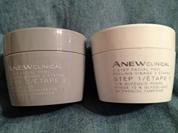 Anew cilnical 2 step facial peel