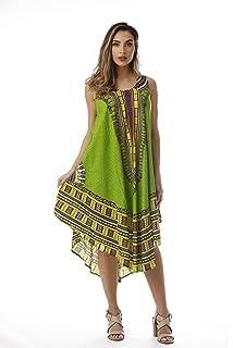 7f1fbeca088 Riviera Sun African Print Dashiki Caftan for Women at Amazon Women s ...