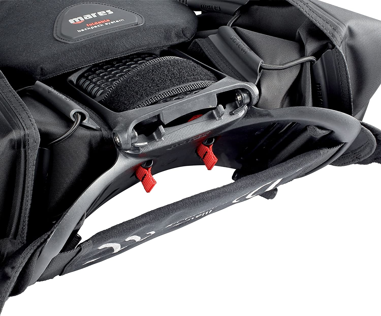 Mares BCD Hybrid Pure Chaleco Unisex Color Negro