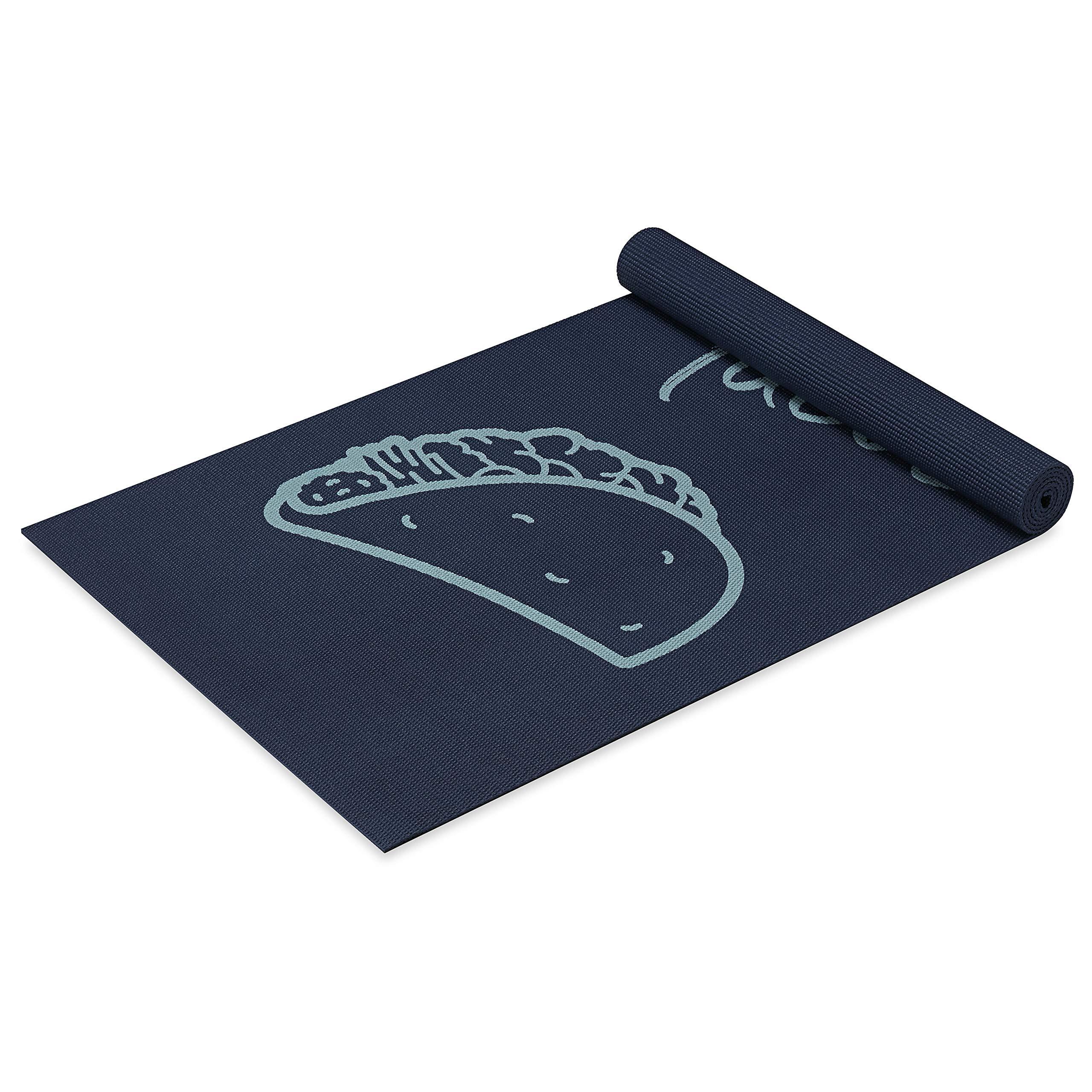 Wellfit Yoga Mat, Tacos, 4mm