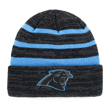 Amazon.com   OTS NFL Carolina Pantshers Male Line Cuff Knit Cap ... f147b637f97