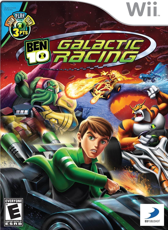 D3Publisher Ben 10: Galactic Racing, Wii, ESP Nintendo Wii Español vídeo - Juego (Wii, ESP, Nintendo Wii, Racing, Modo multijugador, E (para todos)): Amazon.es: Videojuegos