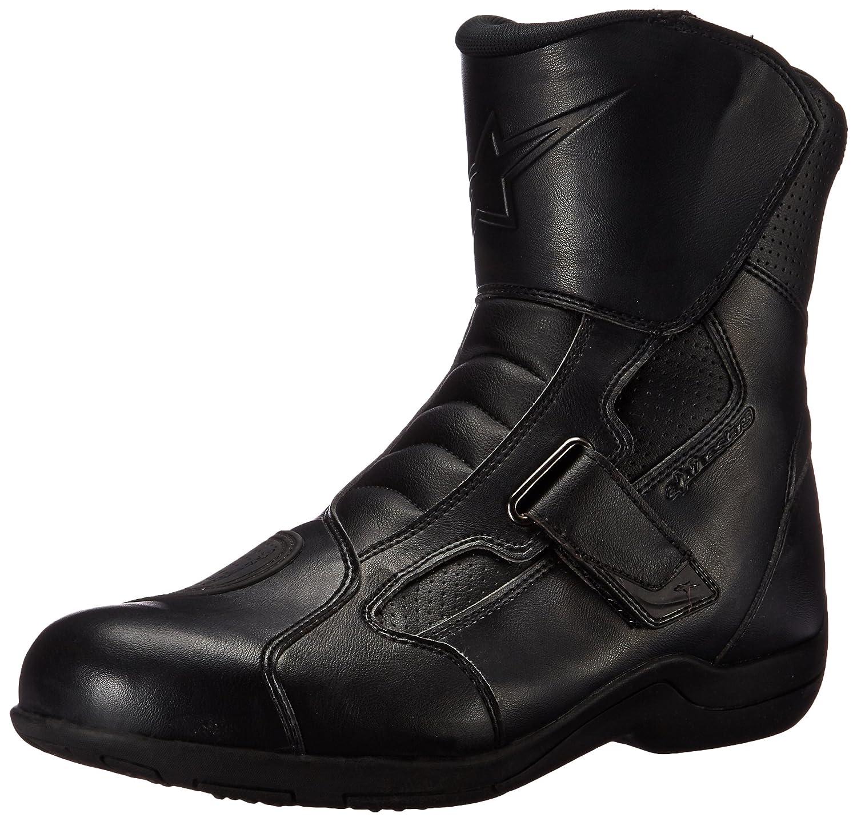 Alpinestars Ridge Waterproof Men's Street Motorcycle Boots (Black, EU Size 48) B01CENQYLY EU Size 48
