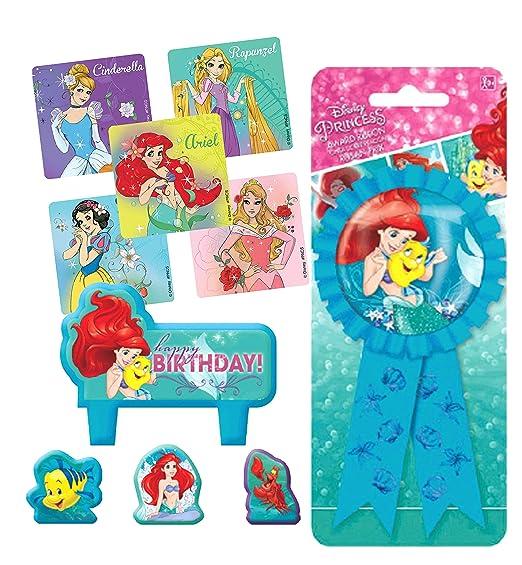 The Little Mermaid Ariel - Juego de Velas para Tarta de ...