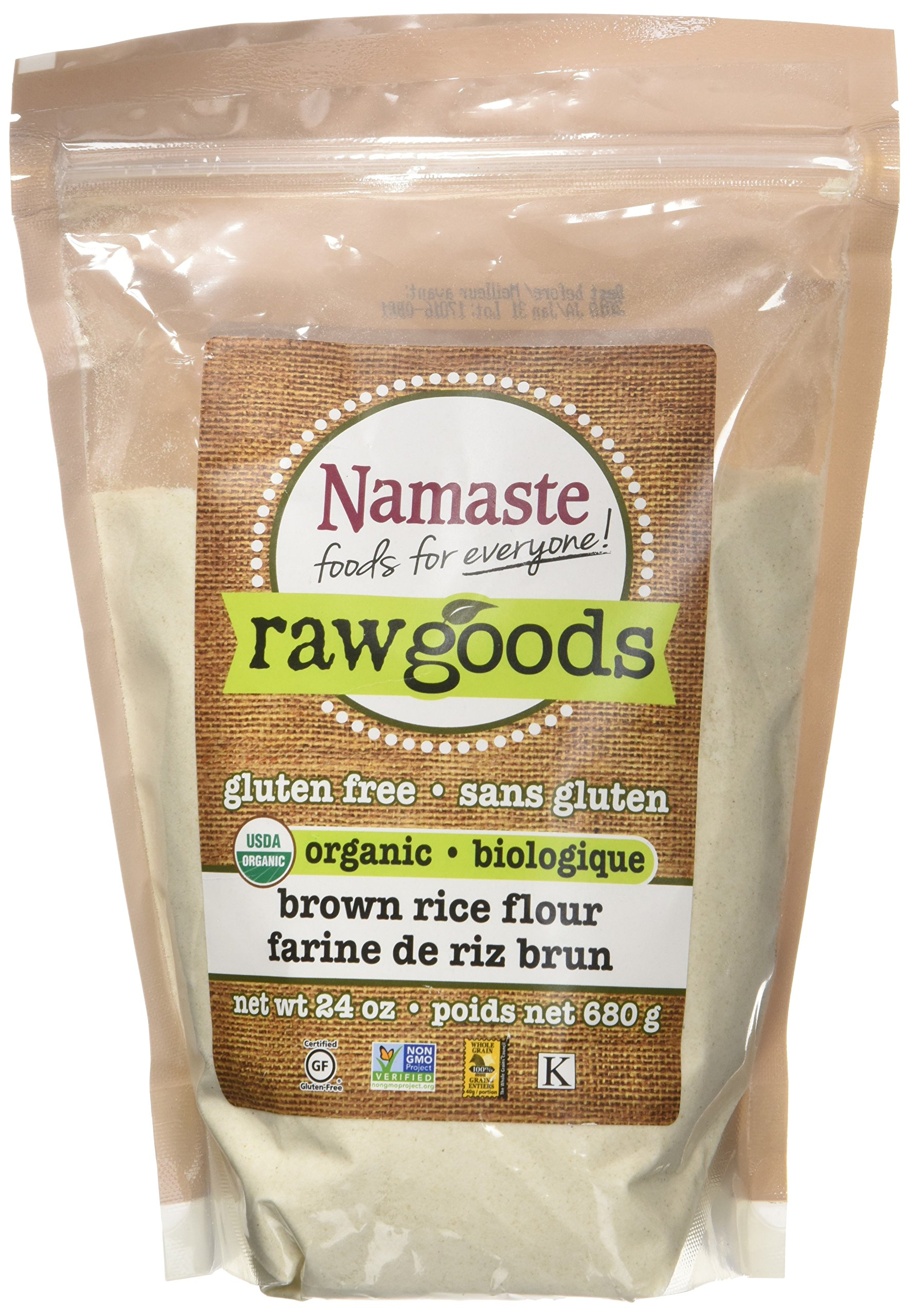 Namaste Foods - Organic Gluten Free Brown Rice Flour - 24 oz.