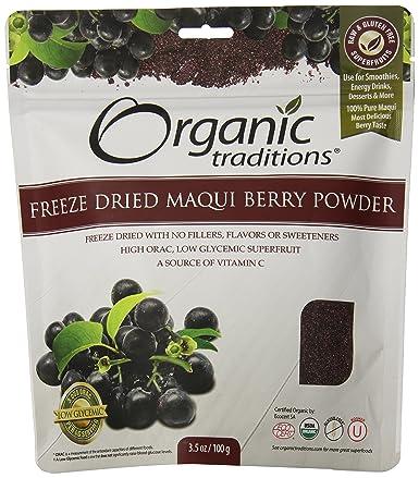 Amazon Com Organic Traditions Organic Powder Maqui Berry 3 5