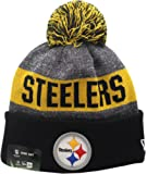 Amazon Price History for:Pittsburgh Steelers 2016 Sport Pom Knit Hat On-Field Logo Block 12301