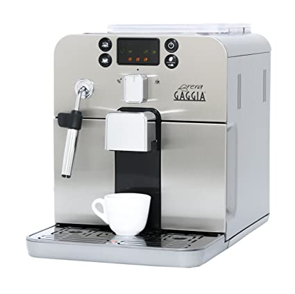amazon com gaggia brera super automatic espresso machine in silver rh amazon com Gaggia Repairs Gaggia Repairs