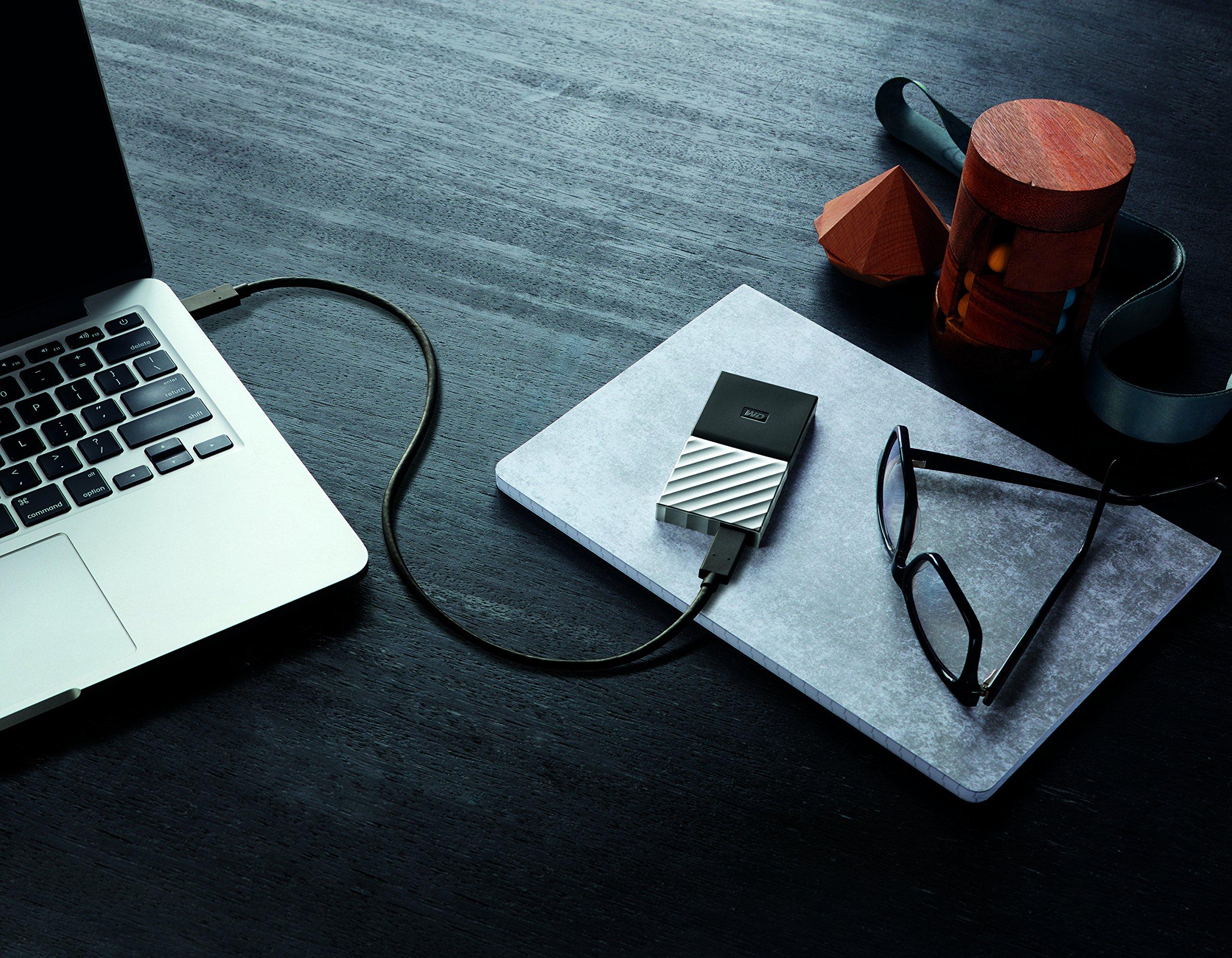 WDBKVX0010PSL-WESN WD 1TB My Passport SSD Portable Storage Black-Gray USB 3.1