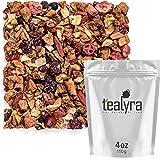 Tealyra - Tropical Harvest - Dragon Fruit - Sea Buckthorn - Goji - Pineapple - Cranberry - Fruity Herbal Loose Leaf Tea…