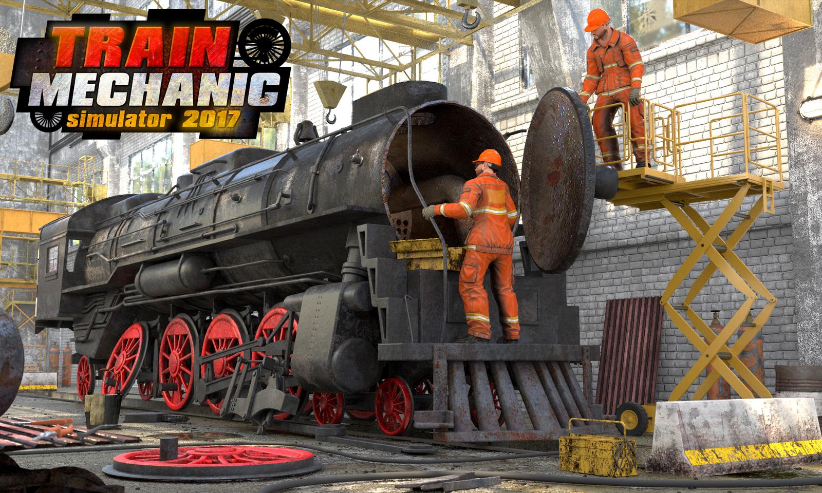 Train Mechanic Simulator 2017 [Online Game Code]