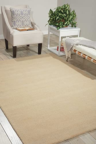 Nourison Wav10 Grand Suite Cream Rectangle Area Rug, 8-Feet by 10-Feet 6-Inches 8 x 10 6