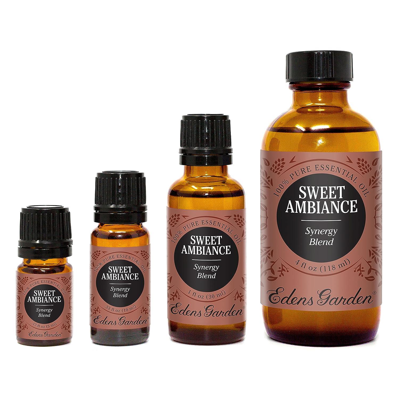 Sweet Ambiance sinergia mezcla aceite esencial por Edens jardín (limón, lima, naranja, bálsamo del Perú y Ylang Ylang), 5 ml, 1: Amazon.es: Salud y cuidado ...
