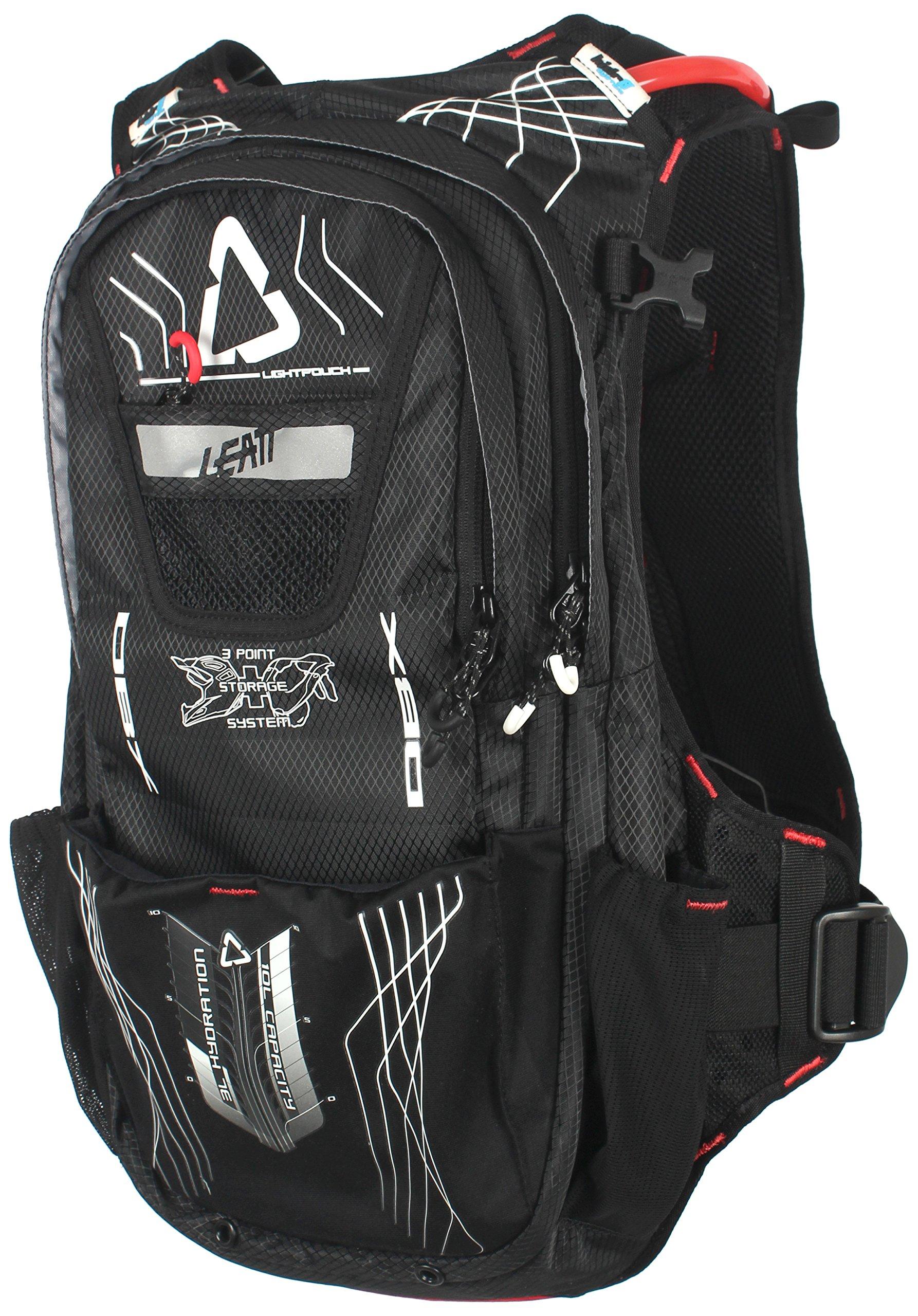 Leatt 7015100131 Black/White/Red Cargo 3.0 DBX Hydration Pack by Leatt Brace