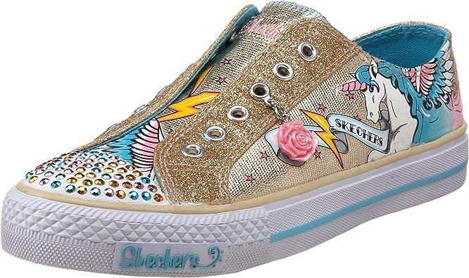 Robar a Melodrama Inesperado  Amazon.com | Skechers Twinkle Toes Shuffles Glitterazzi Light-Up Sneaker  (Little Kid/Big Kid) | Sneakers