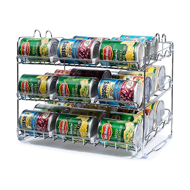 Stackable Can Rack Organizer, Storage for 36 c...