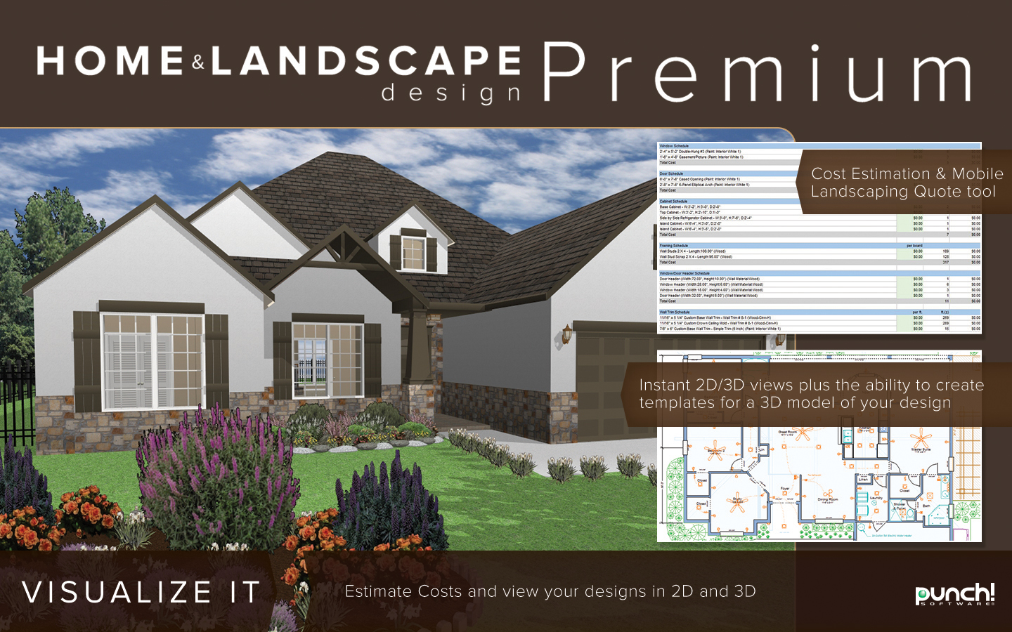 Punch home landscape design premium v19 home design Windows home design software