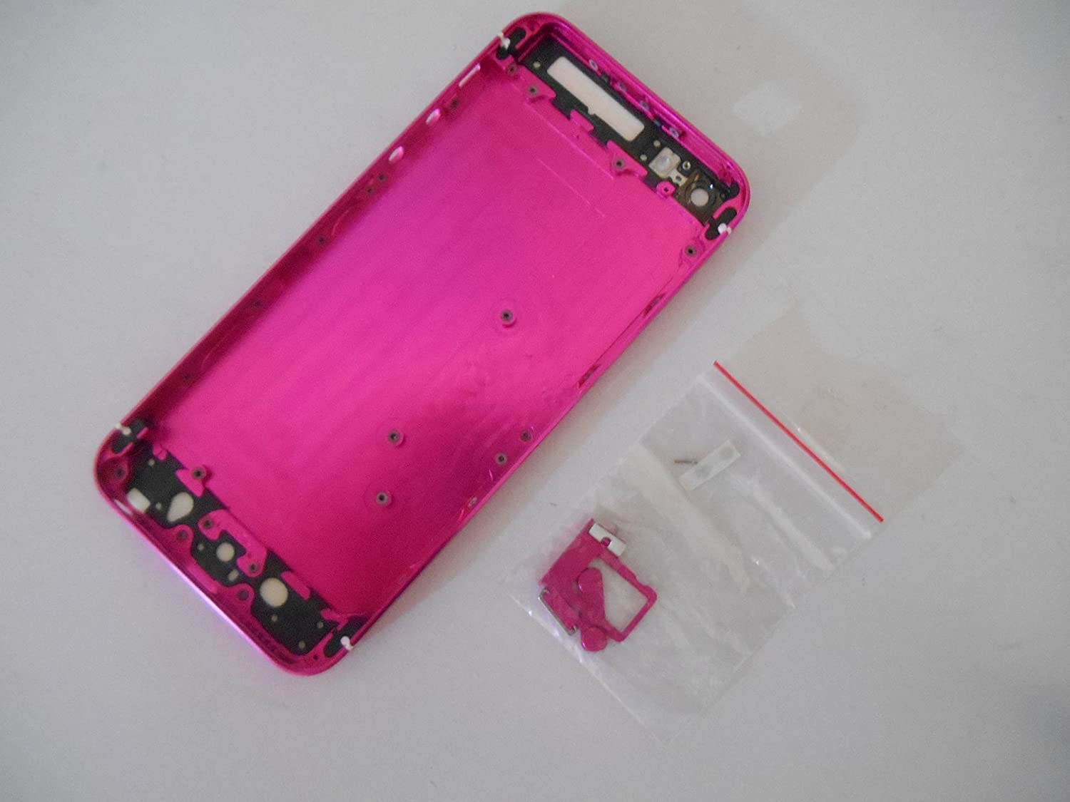 5G HOT PINK Housing iPhone 5 Middle Frame Replacement: Amazon.co.uk ...