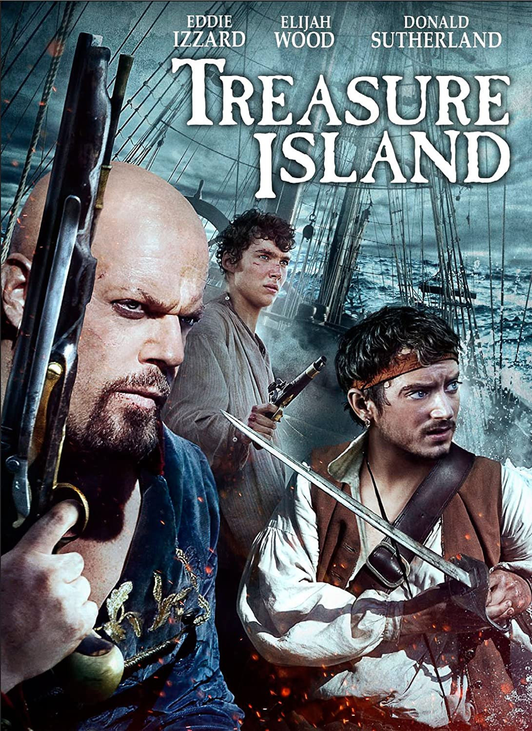 Amazon.com: Treasure Island: Eddie Izzard, Toby Regbo ...