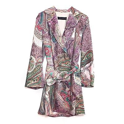 Veste 6lpcs0913189 Imprimé À Zara Robe Femme 2761846 Cachemire Bxpqx570T