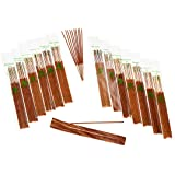 HAND-DIPPED INCENSE & BURNER GIFT SET - 120 Stick Variety, 12 Scent Assortment - Plus Bonus Scent