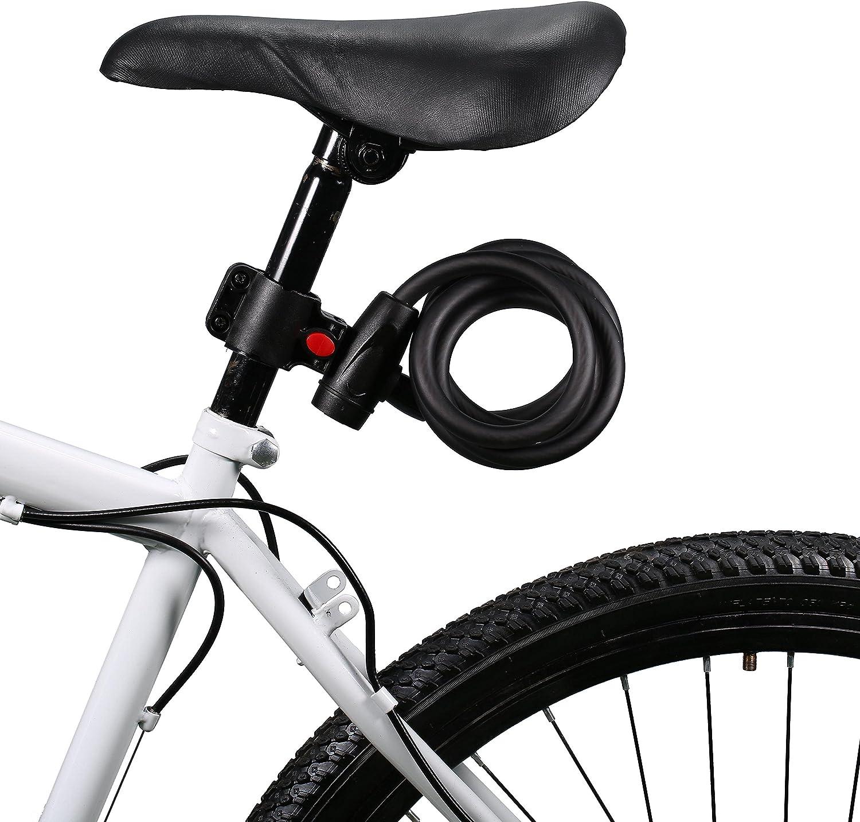 Selighting Candado para MTB Bicicleta Montaña Candado de Cadena de ...