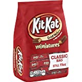 KIT KAT Chocolate Candy Bars, Miniatures, 11 Ounce (Pack of 6)