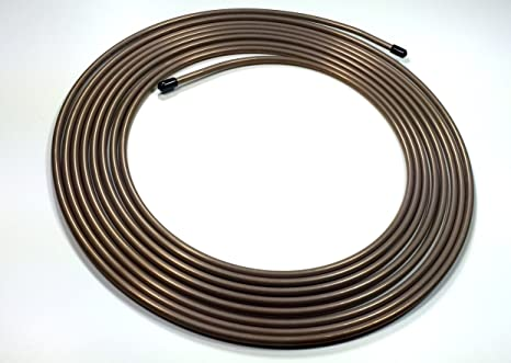 91vI3nzWDEL._SX466_ amazon com 25 feet of copper nickel 1 4 inch brake or fuel line