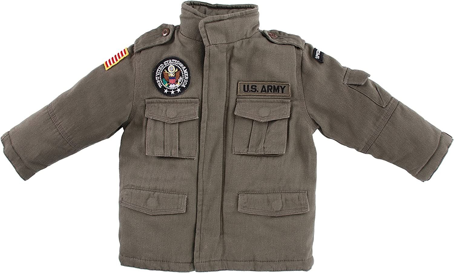 Up and Away Army Field Jacket