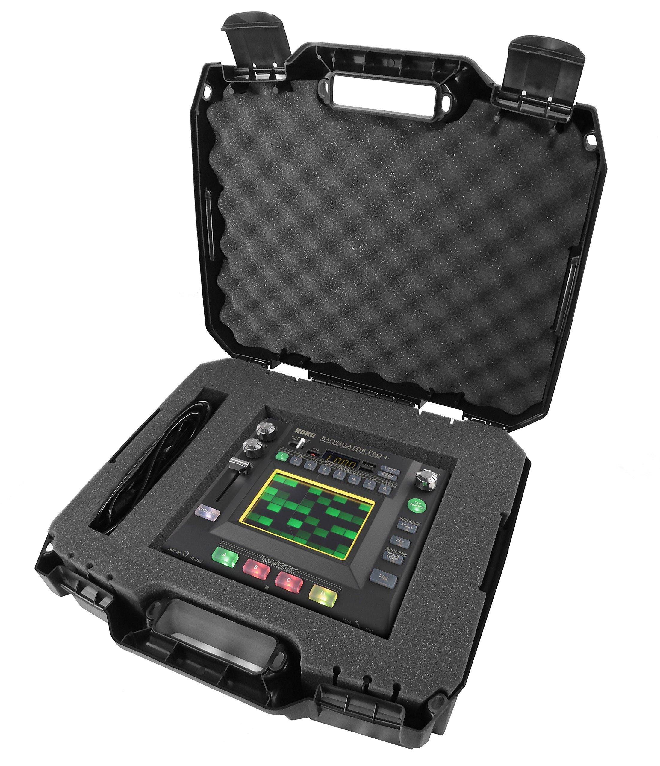 ArmorCASE Travel Carrying Hard Case (17'') for KORG Synthesizer , PAD or Controller - Fits KAOSSILATOR PRO+ , KAOSS DJ , KAOSS PAD KP3+ , KAOSS PAD QUAD , electribe , electribe sampler , padKONTROL by CASEMATIX